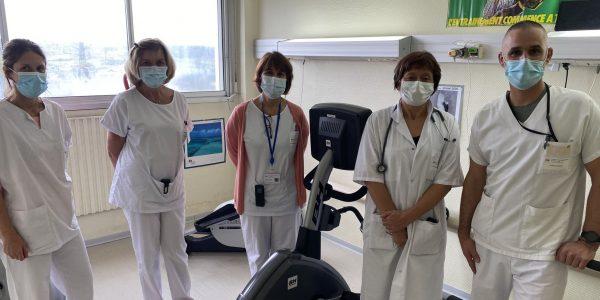 Le programme de réadaptation cardiaque du Centre Hospitalier d'Auch